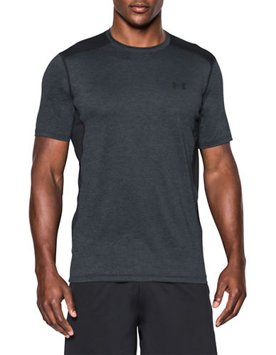 Under Armour Raid Short Sleeve Tee-GREY-Large 89055048_GREY_Large