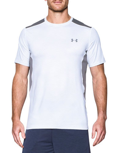 Under Armour Raid Short Sleeve T-Shirt-WHITE-X-Large 88443556_WHITE_X-Large