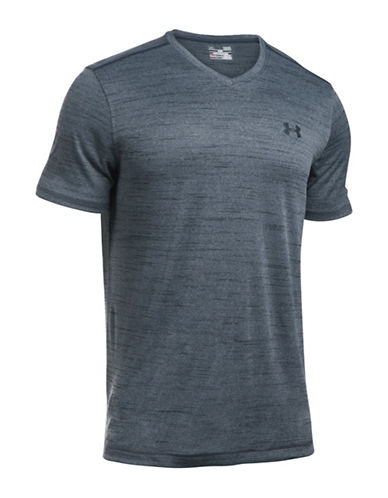 Under Armour UA Tech V-Neck T-Shirt-STLTH GREY-XX-Large 88641812_STLTH GREY_XX-Large