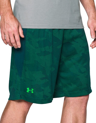 Under Armour Raid Graphic Print Shorts-TEAL-Medium 88443739_TEAL_Medium