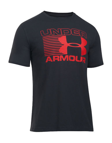 Under Armour Core Stack Attack T-Shirt-BLACK-Large 88641870_BLACK_Large