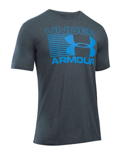 Under Armour Core Stack Attack T-Shirt-GREY-Medium 88641874_GREY_Medium