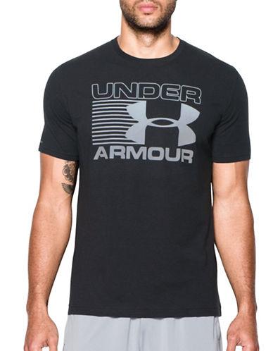 Under Armour Blitz Logo T-Shirt-BLACK-Large 88867620_BLACK_Large