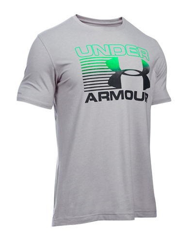Under Armour Logo Graphic T-Shirt-TRUE GREY-Large 88641880_TRUE GREY_Large