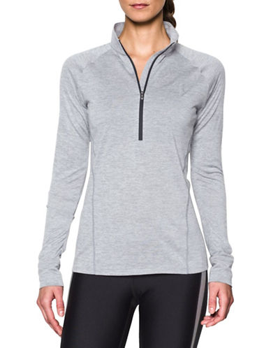 Under Armour Half Zip Twist Top-STEEL-X-Small 88594048_STEEL_X-Small