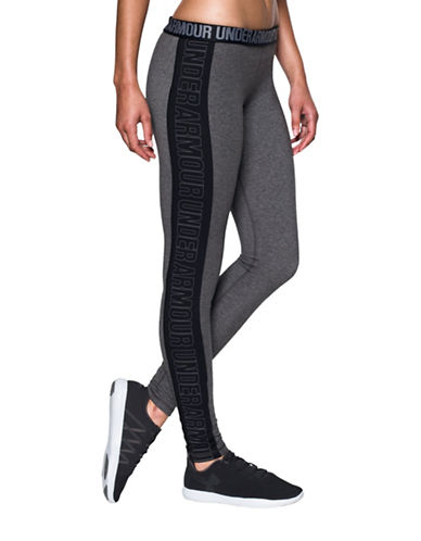 Under Armour Favourite Graphic Leggings-GREY-X-Large 88703979_GREY_X-Large
