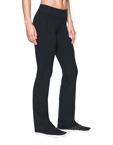 Under Armour Mirror Bootcut Pants-BLACK-Small 88843527_BLACK_Small