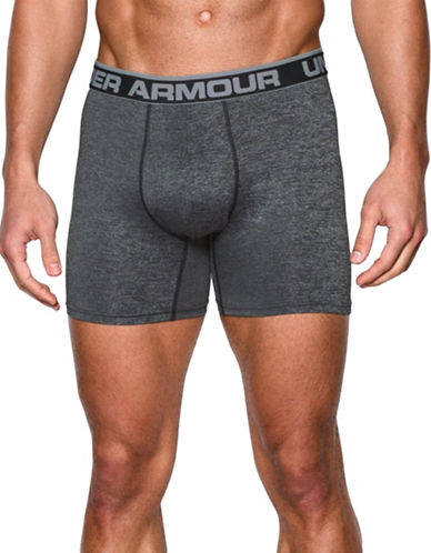 Under Armour Original Series Twist Boxerjock-GREY-Large