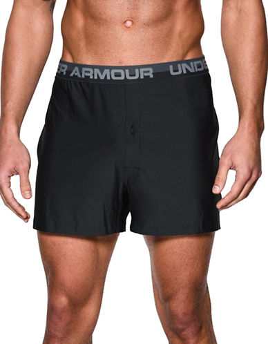 Under Armour Original Series Boxer Shorts-BLACK-X-Large