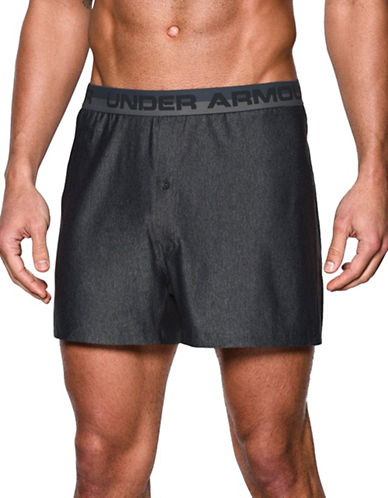 Under Armour Original Series Boxer Shorts-GREY-Medium