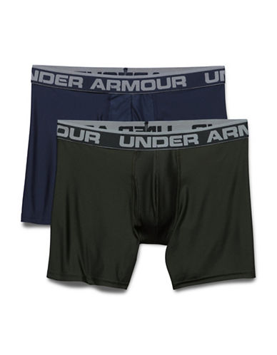 Under Armour Two-Pack Original Series 6-Inch Boxerjocks-MIDNIGHT-X-Large