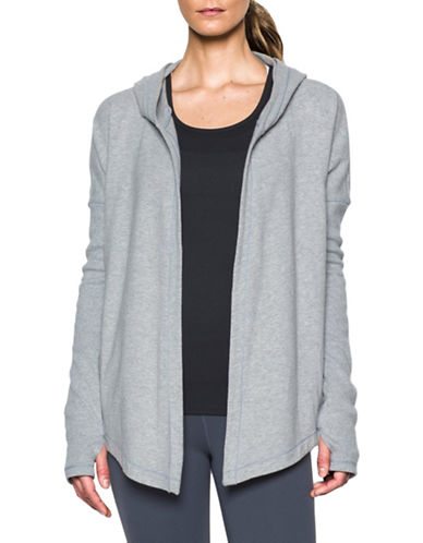 Under Armour UA Modern Open Front Cardigan-GREY-Medium 88675704_GREY_Medium