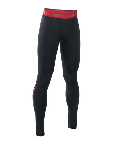 Under Armour Solid Leggings-BLACK-Large 88683418_BLACK_Large
