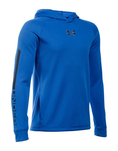 Under Armour Waffle Hoodie-BLUE-Large 88683442_BLUE_Large
