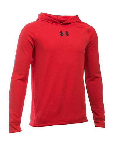 Under Armour Waffle Hoodie-RED-X-Large 88683439_RED_X-Large