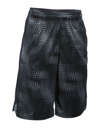 Under Armour Eliminator Printed Shorts-GRAPHITE-Large 88509489_GRAPHITE_Large