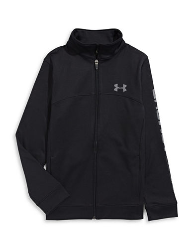 Under Armour Pennant Zip-Up Jacket-BLACK-X-Large 88509510_BLACK_X-Large