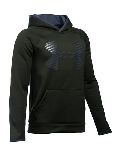 Under Armour Fleece Graphic Hoodie-GREEN-Small 88783713_GREEN_Small
