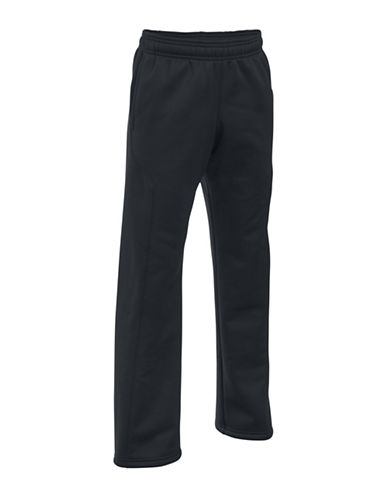 Under Armour Storm Armour Fleece Big Logo Sweatpants-BLACK-Medium 88683405_BLACK_Medium