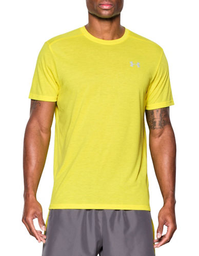 Under Armour Streaker Run Short Sleeve T-Shirt-YELLOW-Large 88443636_YELLOW_Large