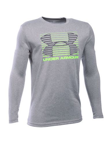 Under Armour Breakthrough Logo T-Shirt-GREY-Medium 88768235_GREY_Medium