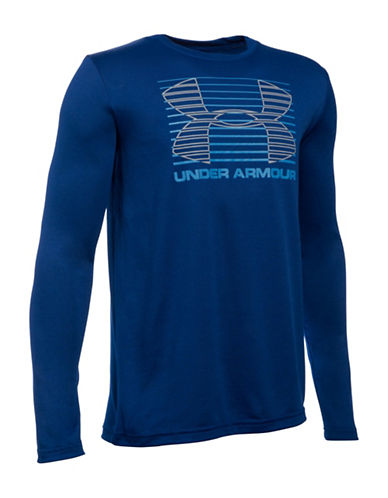 Under Armour Breakthrough Logo T-Shirt-BLUE-Large 88768240_BLUE_Large