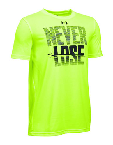 Under Armour Tech Big Logo T-Shirt-FUEL GREEN-Small 88509495_FUEL GREEN_Small