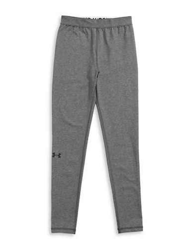 Under Armour Favourite Knit Leggings-HEATHER GREY-Large 88508030_HEATHER GREY_Large