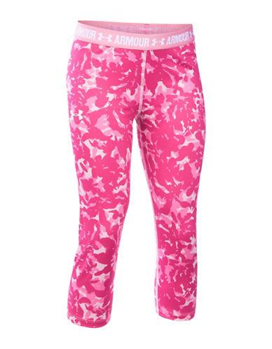 Under Armour HeatGear Armour Printed Leggings-PINK-X-Small 88508007_PINK_X-Small