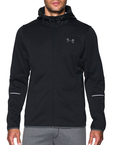 Under Armour Coldgear Storm1 Full-Zip Hoodie-BLACK-X-Large 88767486_BLACK_X-Large
