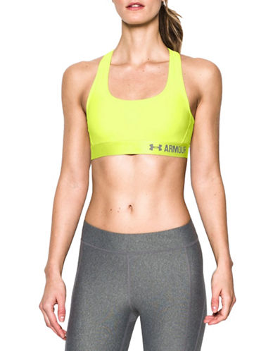 Under Armour Mid-Impact Crisscross Sports Bra-YELLOW-X-Large 88511570_YELLOW_X-Large