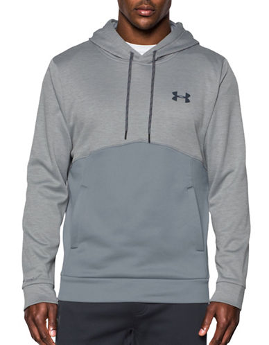 Under Armour UA Storm Armour Fleece Hoodie-STEEL-Large 88790459_STEEL_Large