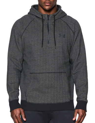 Under Armour Rival Novelty Pull Hoodie-GREY-Small 88767498_GREY_Small