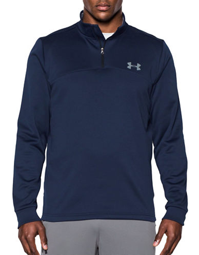 Under Armour Storm Fleece Quarter-Zip Top-MIDNIGHT-Small 88790498_MIDNIGHT_Small