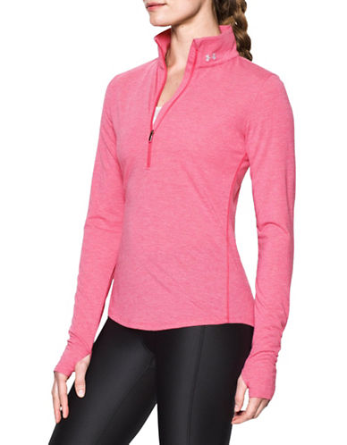Under Armour Threadborne Streaker Half-Zip Jacket-PINK SKY-Large 88840398_PINK SKY_Large