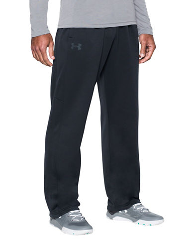 Under Armour UA Storm Armour Fleece Pants-BLACK-XX-Large