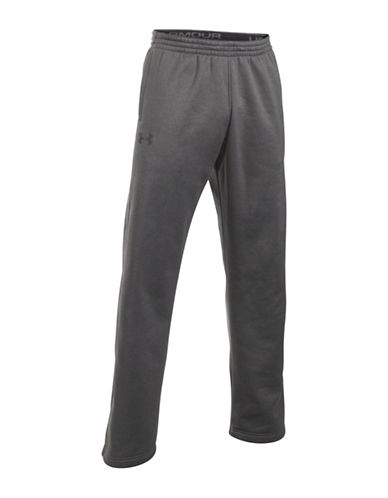 Under Armour Storm Armour Fleece Pants-GREY-Medium
