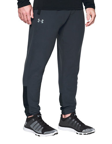 Under Armour ColdGear Infrared Fleece Pants-BLACK-Medium 88863360_BLACK_Medium
