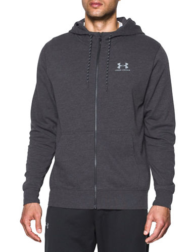 Under Armour Tri-Blend Fleece Zip Hoodie-ASPHALT-Medium 88443783_ASPHALT_Medium