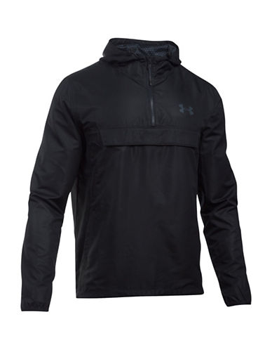 Under Armour Sportstyle Anorak Hoodie-BLACK-Medium 88641884_BLACK_Medium