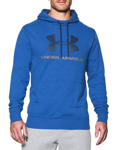Under Armour Tri-Blend Fleece Graphic Hoodie-ROYAL-Small 88443698_ROYAL_Small