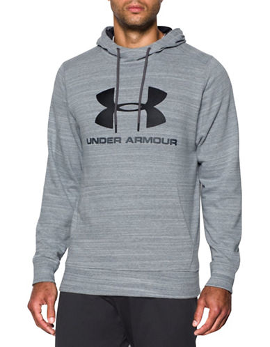 Under Armour Tri-Blend Fleece Graphic Hoodie-STEEL-Large 88443695_STEEL_Large