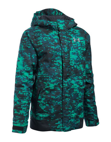 Under Armour ColdGear Infrared Powerline Jacket-GREEN-Large 88662275_GREEN_Large