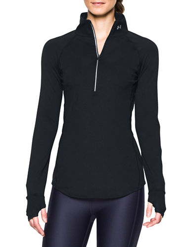 Under Armour Threadborne Streaker Raglan Jacket-BLACK-X-Large 88840431_BLACK_X-Large