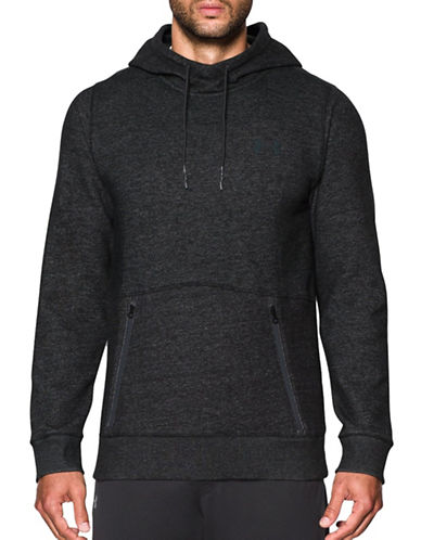 Under Armour Varsity Fleece Hoodie-BLACK-X-Large 88867635_BLACK_X-Large