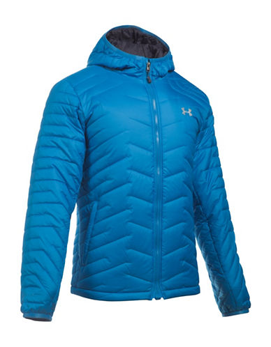 Under Armour Storm ColdGear Hooded Jacket-BLUE-Small 88592953_BLUE_Small