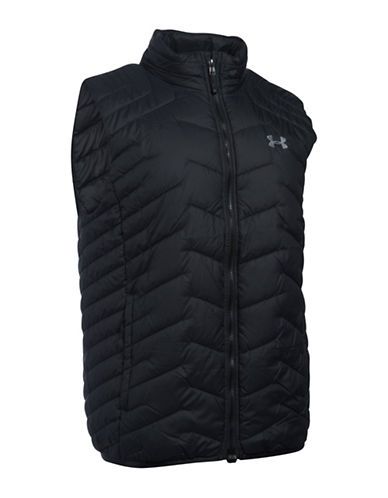 Under Armour Packable ColdGear Quilted Vest-BLACK-X-Large 88592961_BLACK_X-Large