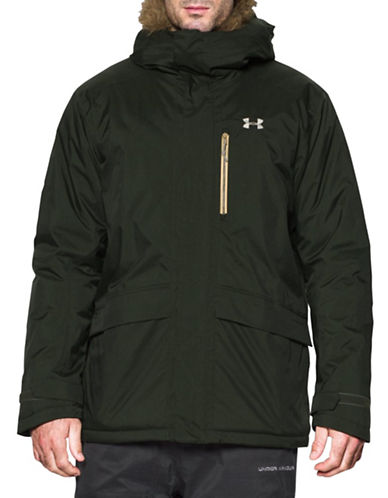 Under Armour ColdGear Reactor Voltage Jacket-GREEN-Large 88677846_GREEN_Large