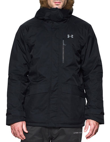 Under Armour ColdGear Reactor Voltage Jacket-BLACK-X-Large 88677844_BLACK_X-Large