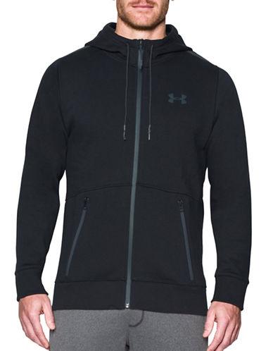 Under Armour UA Varsity Full Zip Jacket-BLACK-Medium 88790483_BLACK_Medium